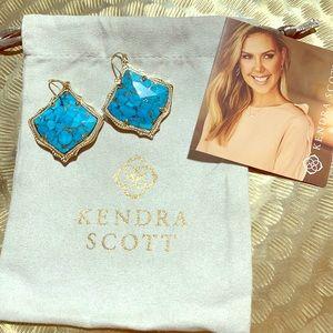Kendra Scott Kirsten Gold Drop Earrings
